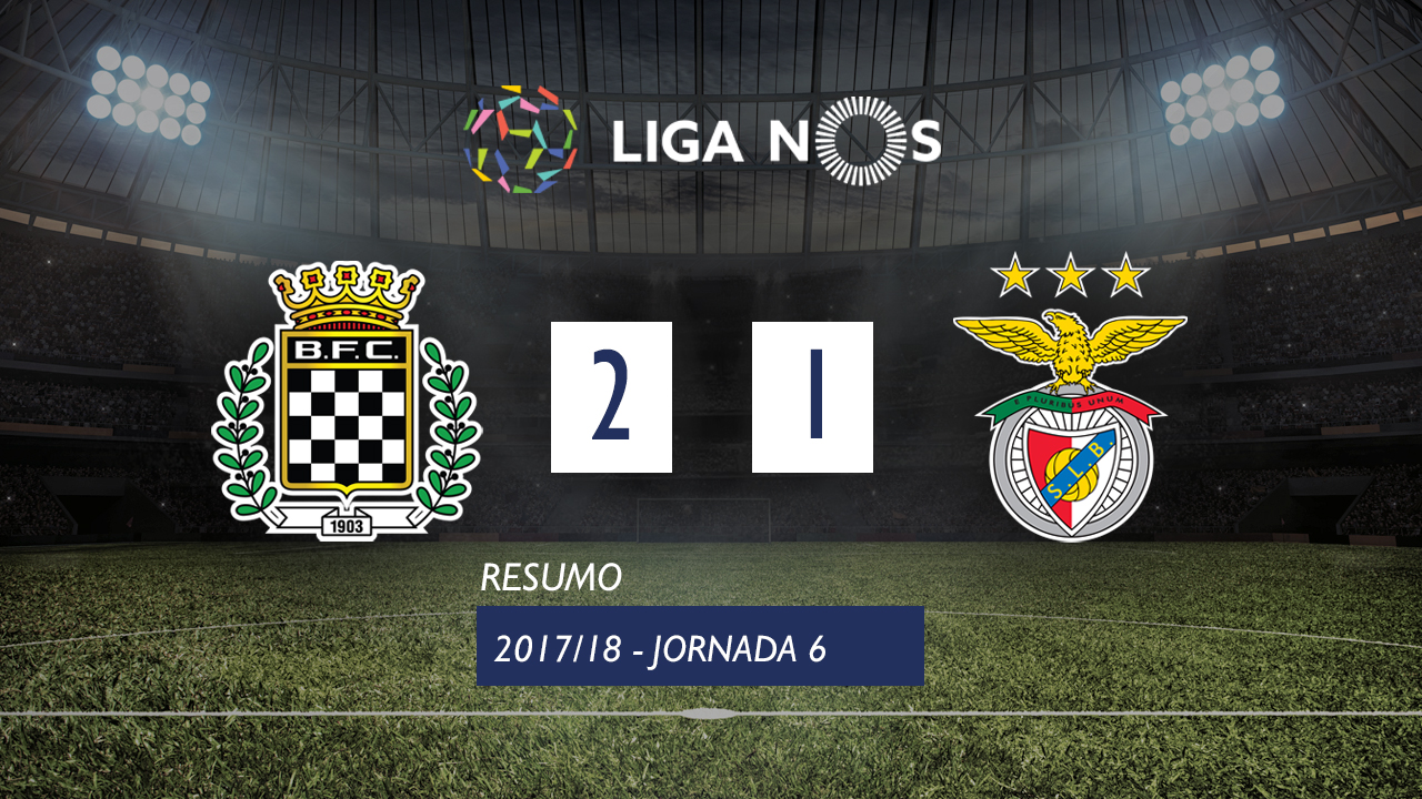 Boavista Benfica goals and highlights
