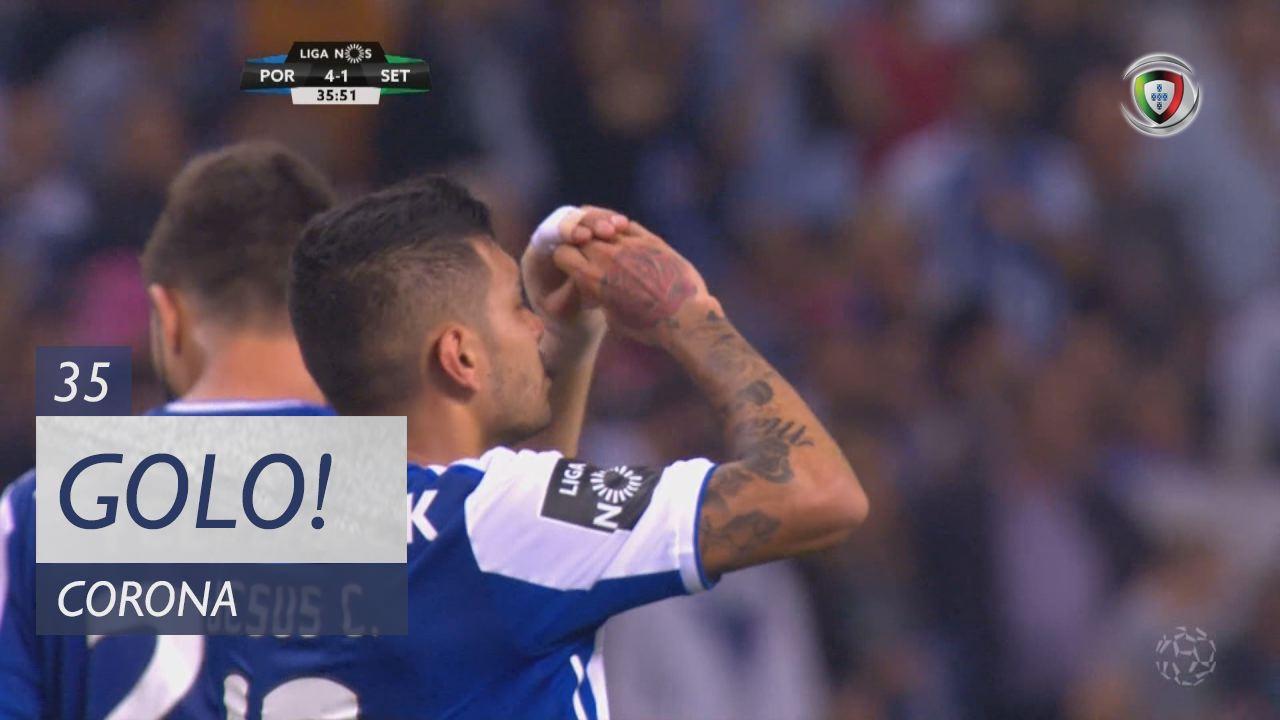 GOLO! FC Porto, Corona aos 35', FC Porto 4-1 Vitória FC