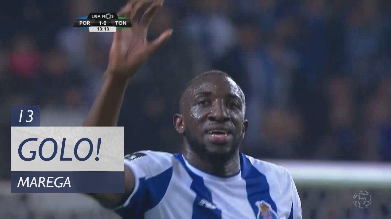 FC Porto, Marega aos 13', FC Porto 1-0 CD Tondela