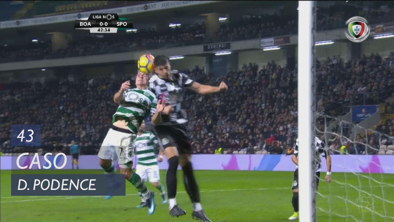 Sporting CP, Caso, Daniel Podence aos 43'