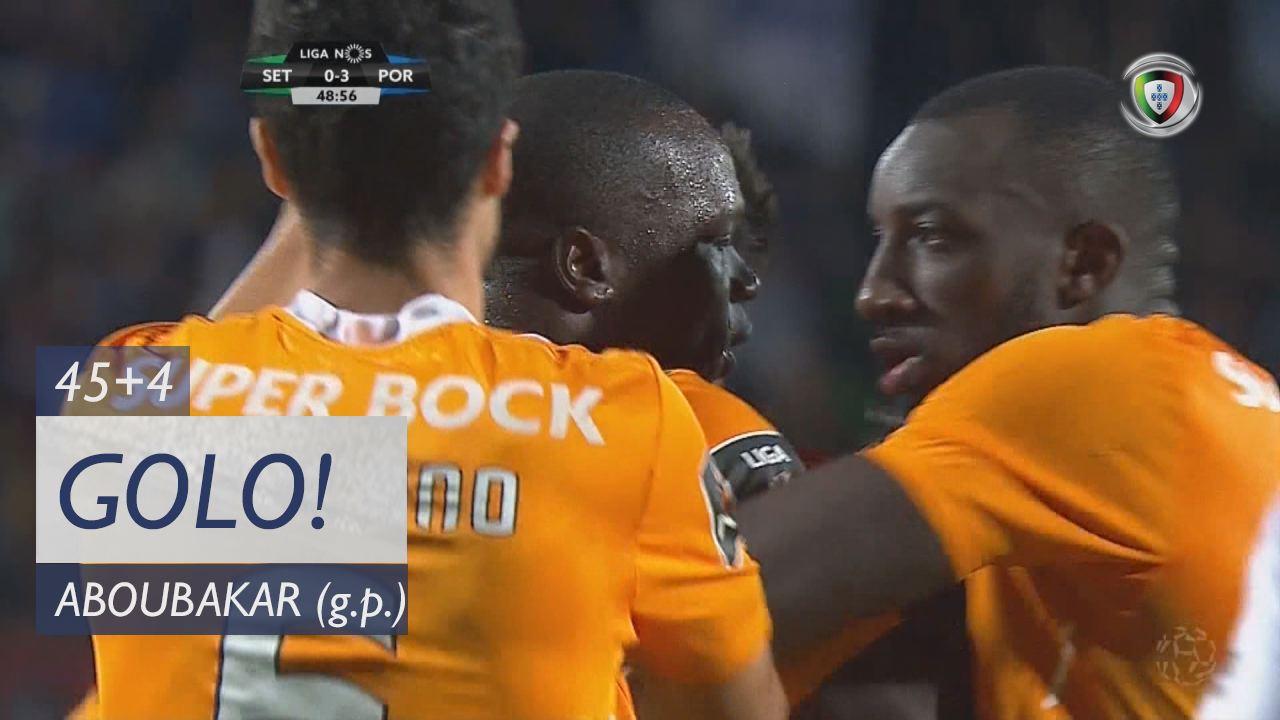 FC Porto, Aboubakar aos 45'+4', Vitória FC 0-3 FC Porto