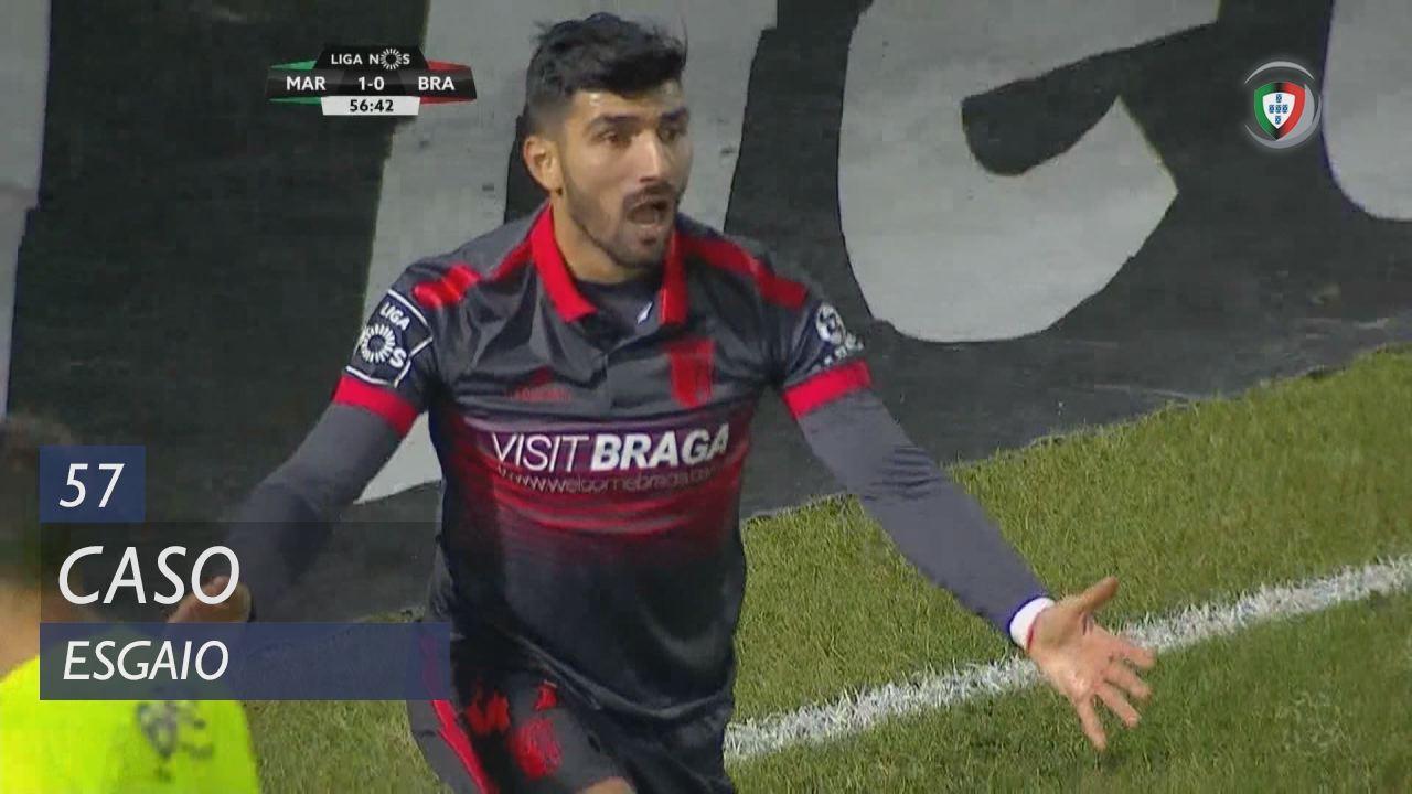 SC Braga, Caso, Ricardo Esgaio aos 57'