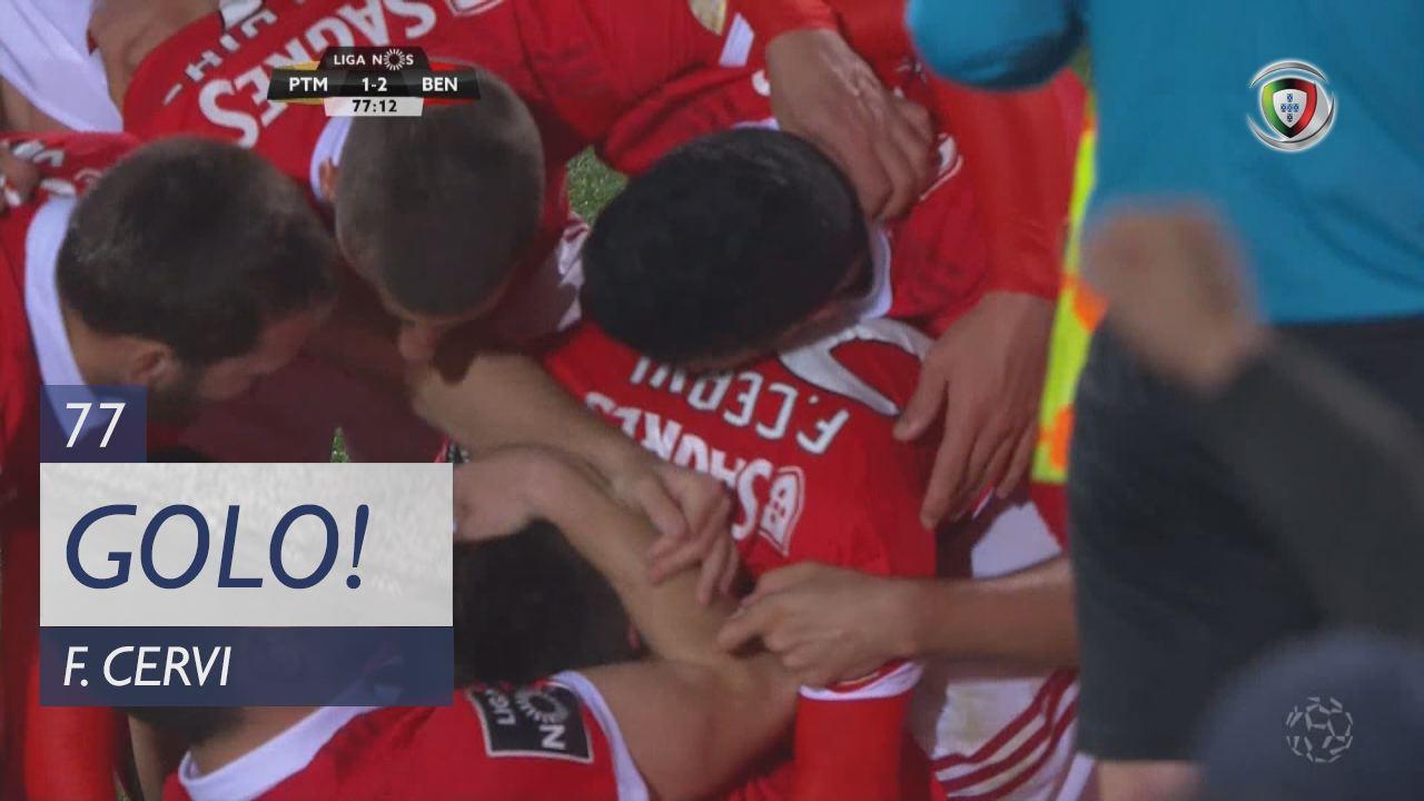 SL Benfica, F. Cervi aos 77', Portimonense 1-2 SL Benfica