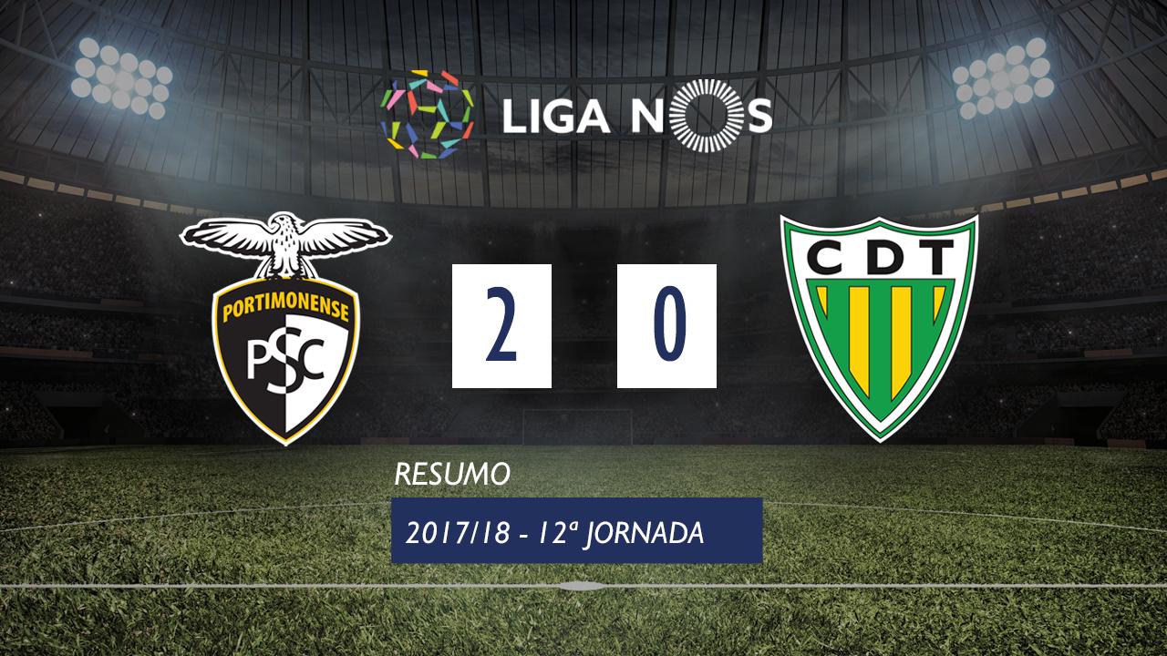 Portimonense Tondela goals and highlights