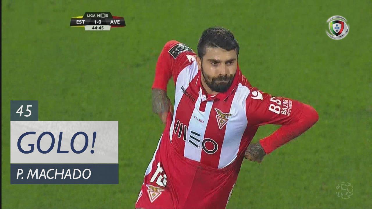 CD Aves, Paulo Machado aos 45', Estoril Praia 1-1 CD Aves