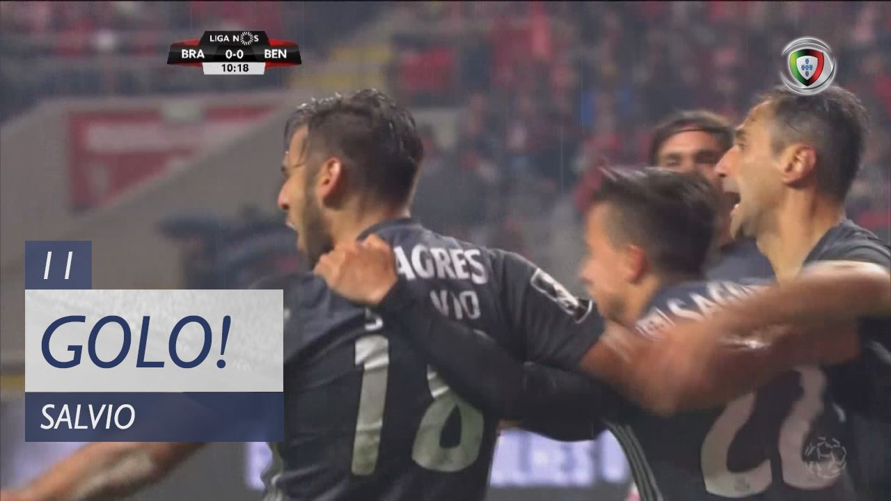 SL Benfica, Salvio aos 11', SC Braga 0-1 SL Benfica
