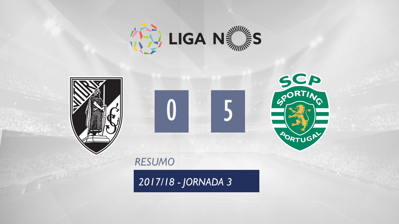 Guimaraes Sporting Lisbon goals and highlights