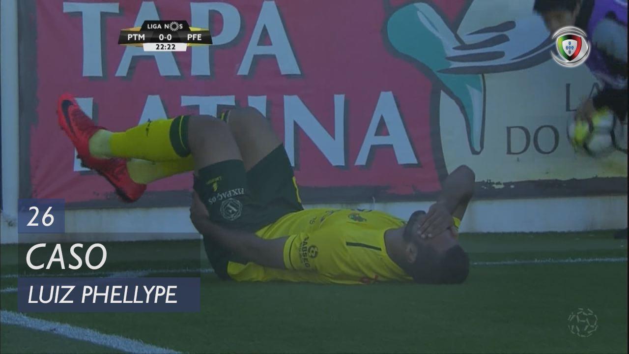 FC P.Ferreira, Caso, Luiz Phellype aos 26'