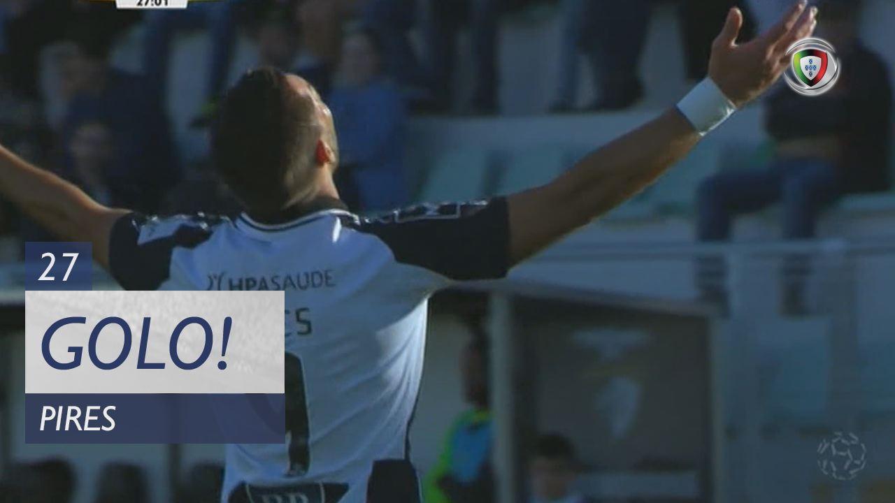 GOLO! Portimonense, Pires aos 27', Portimonense 1-0 FC P.Ferreira