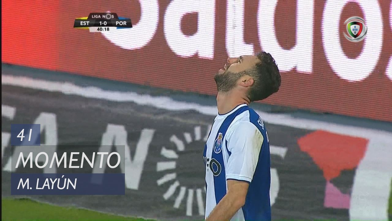FC Porto, Jogada, M. Layún aos 41'