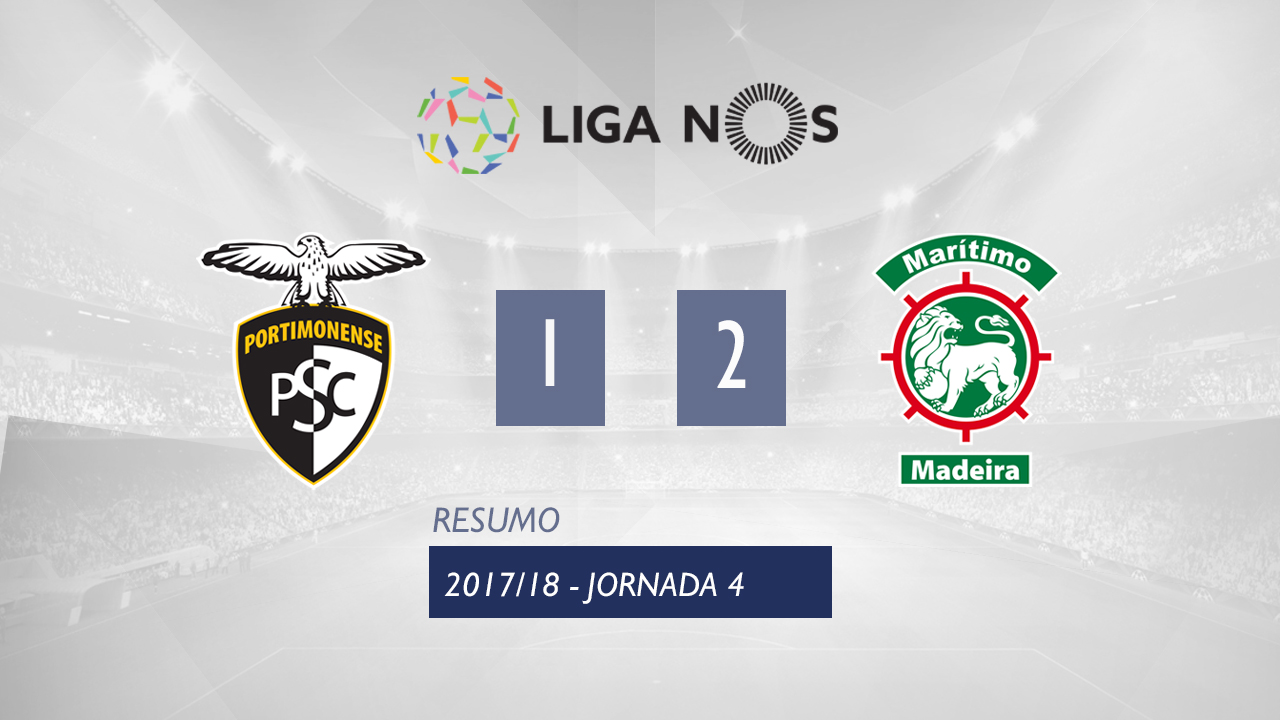 Portimonense Maritimo goals and highlights