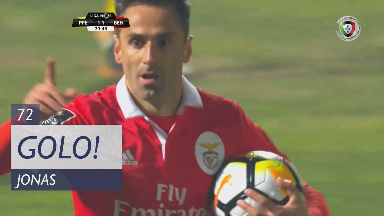 SL Benfica, Jonas aos 72', FC P.Ferreira 1-1 SL Benfica