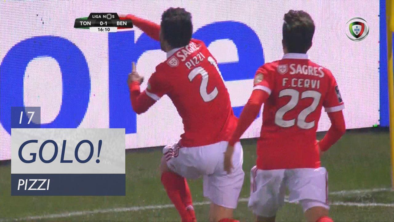 SL Benfica, Pizzi aos 17', CD Tondela 0-1 SL Benfica
