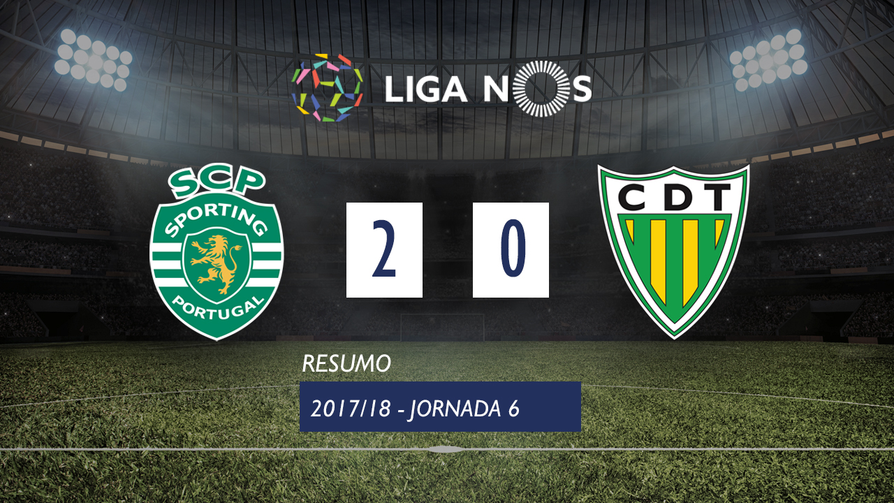 Sporting Lisbon Tondela goals and highlights
