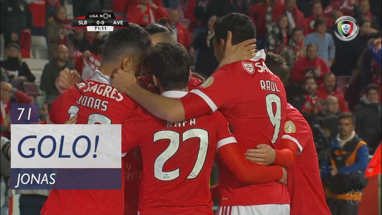 SL Benfica, Jonas aos 71', SL Benfica 1-0 CD Aves