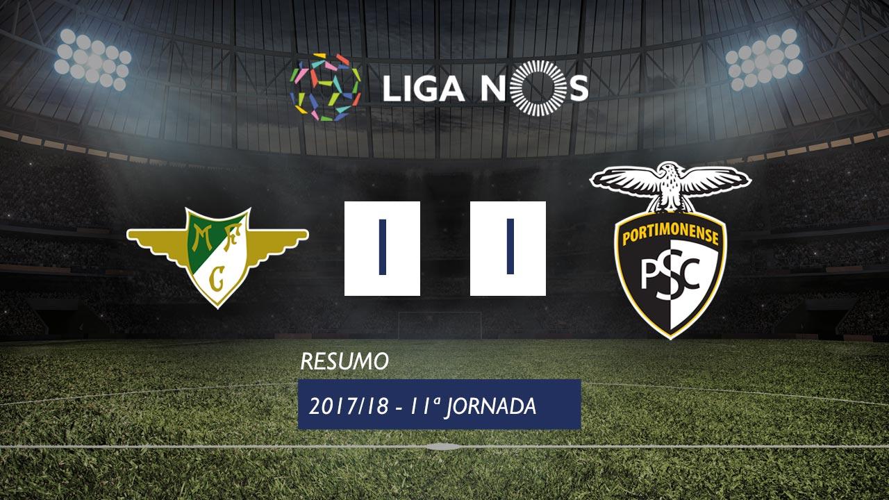 Moreirense Portimonense goals and highlights