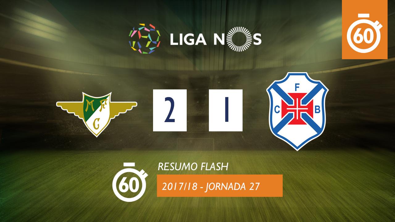 Moreirense Belenenses Goals And Highlights