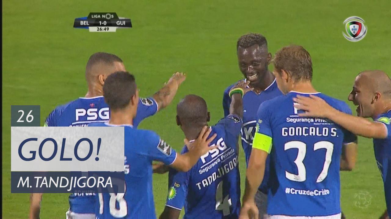 GOLO! Belenenses, M. Tandjigora aos 26', Belenenses 1-0 Vitória SC