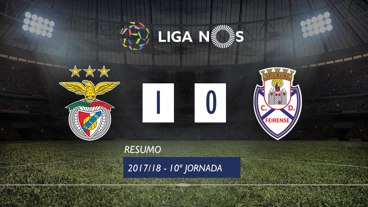 Benfica Feirense goals and highlights