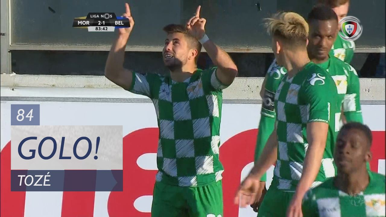 GOLO! Moreirense FC, Tozé aos 84', Moreirense FC 2-1 Belenenses SAD
