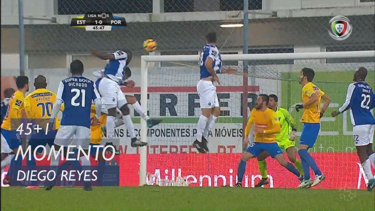 FC Porto, Jogada, Diego Reyes aos 45'+1'