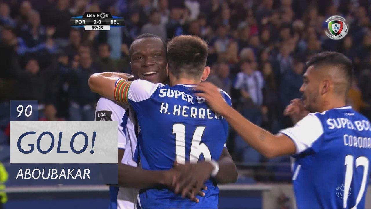 FC Porto, Aboubakar aos 90', FC Porto 2-0 Os Belenenses