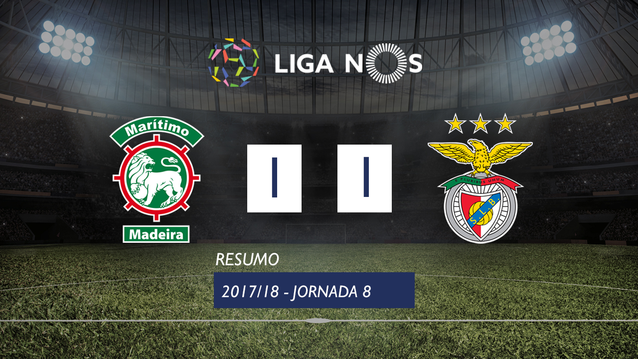 Maritimo Benfica goals and highlights