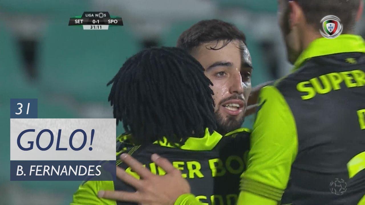 Sporting CP, Bruno Fernandes aos 31', Vitória FC 0-1 Sporting CP