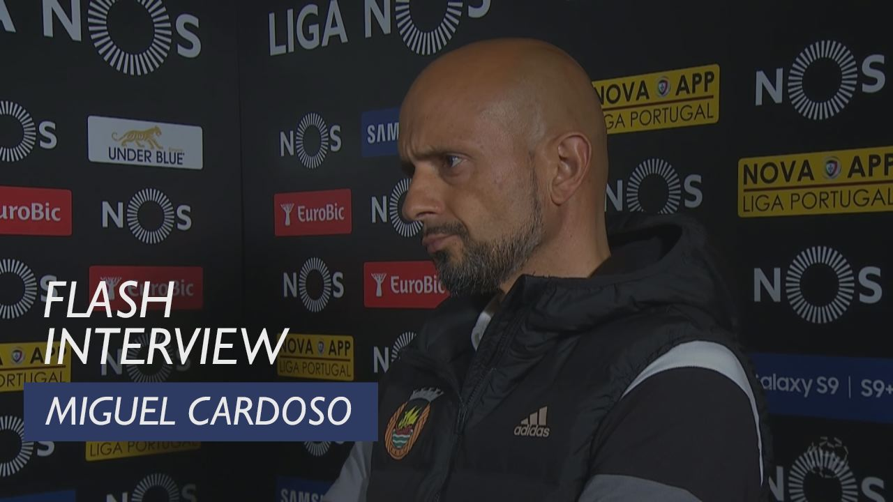 Liga (27ª): Flash interview Miguel Cardoso