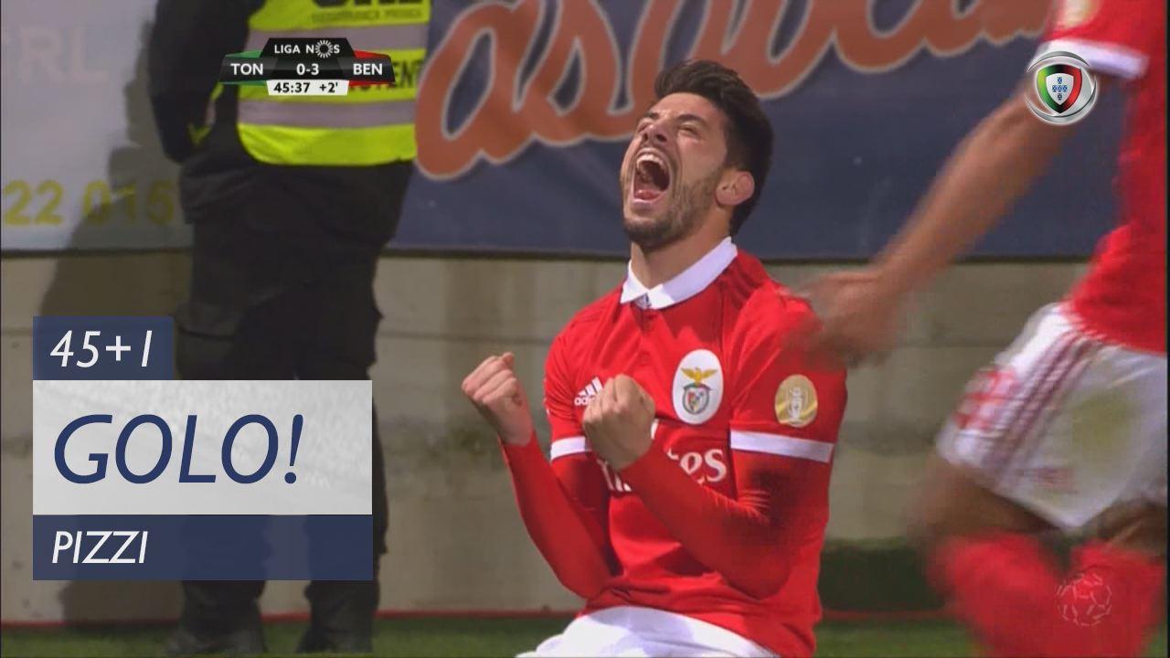 SL Benfica, Pizzi aos 45'+1', CD Tondela 0-3 SL Benfica