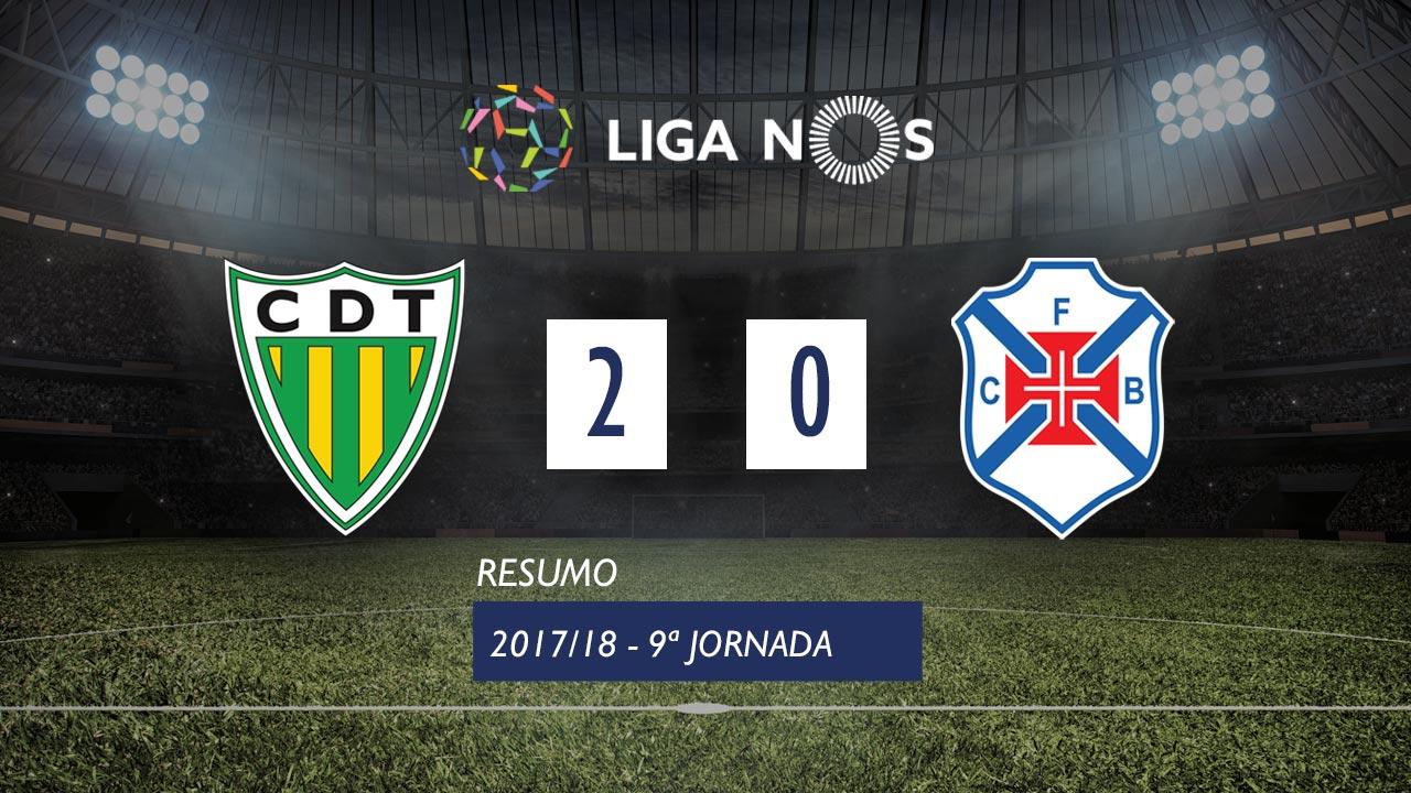 Tondela Belenenses goals and highlights