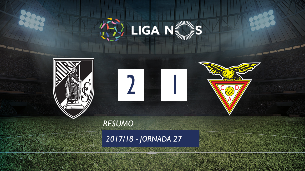 Liga NOS (27ªJ): Resumo Vitória SC 2-1 CD Aves