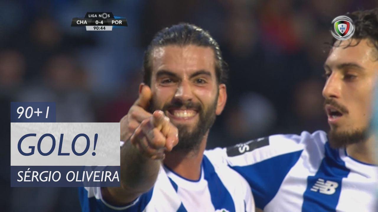 FC Porto, Sérgio Oliveira aos 90'+1', GD Chaves 0-4 FC Porto