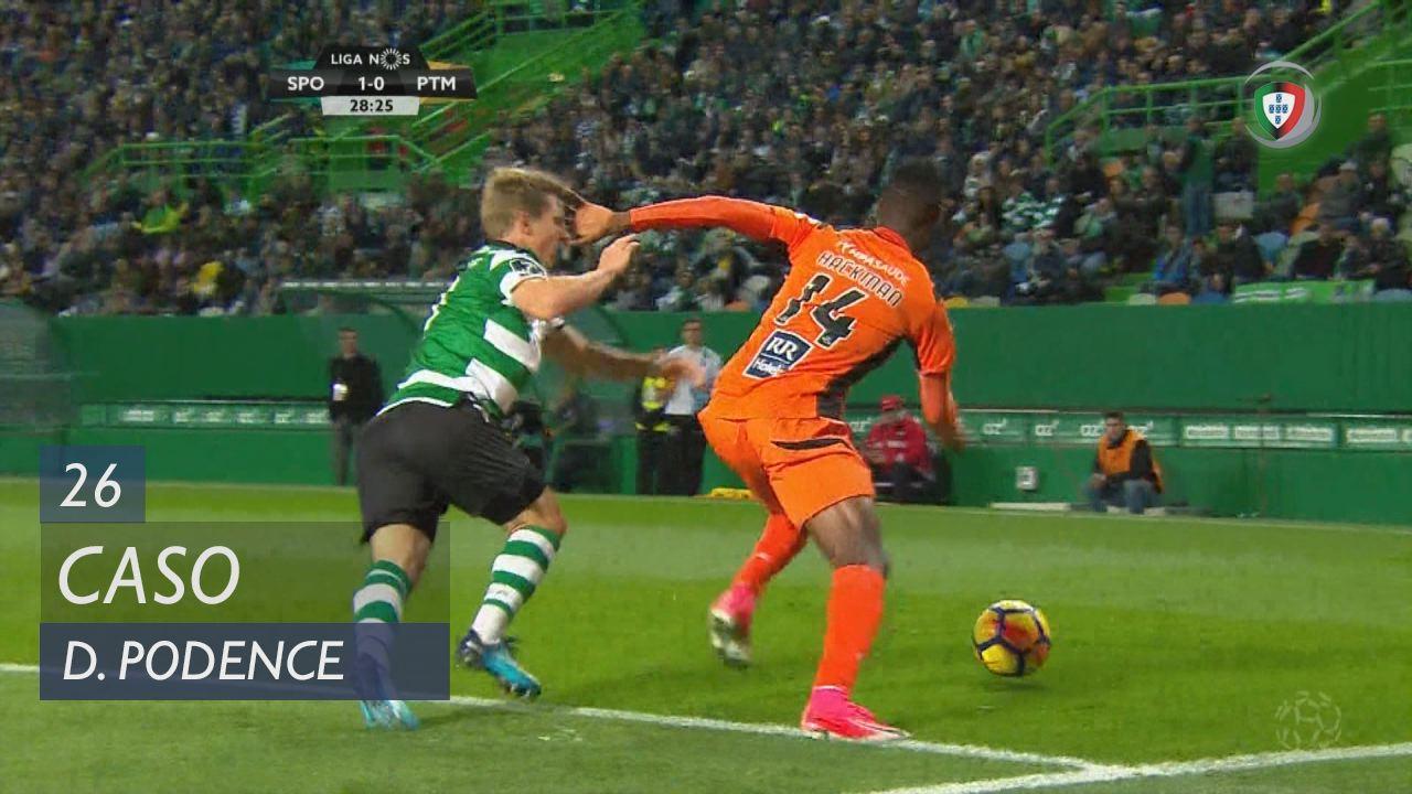 Sporting CP, Caso, Daniel Podence aos 26'