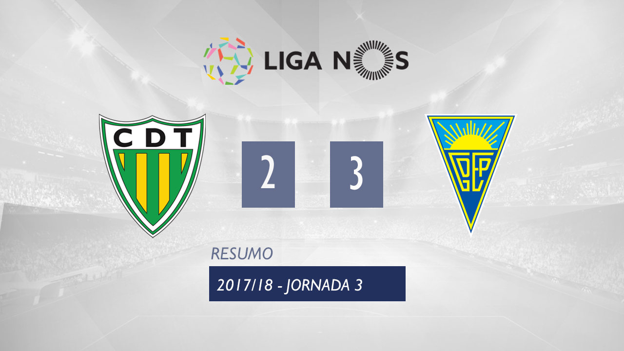Tondela Estoril goals and highlights