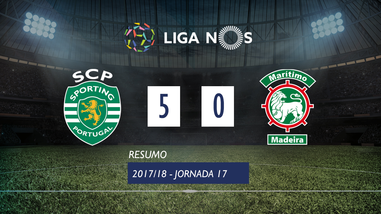 Sporting Lisbon Maritimo goals and highlights
