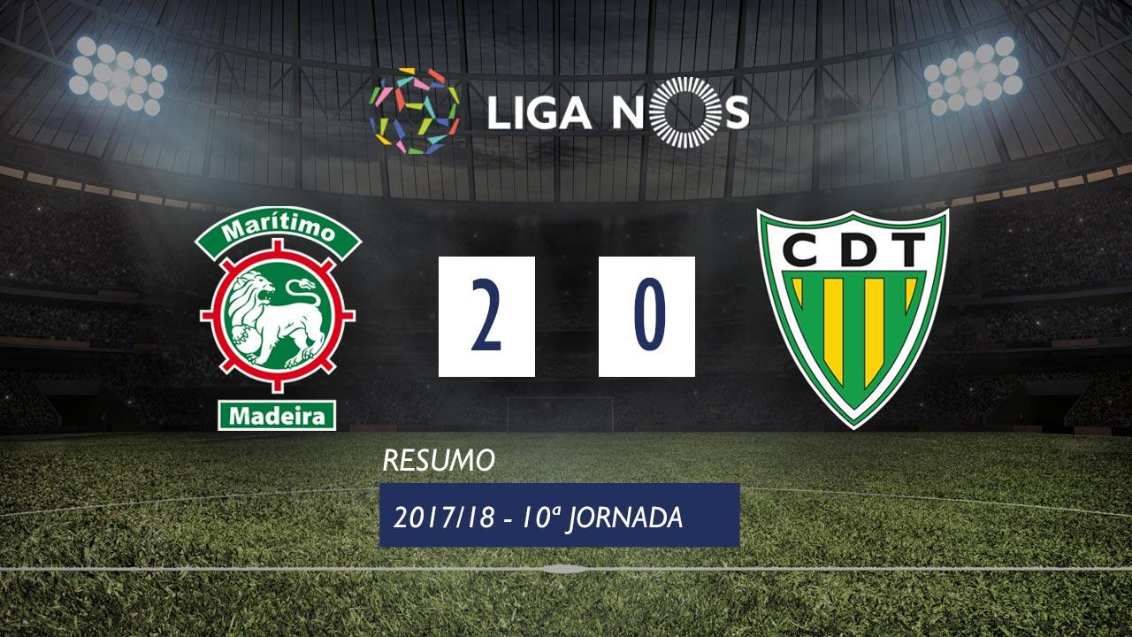 Maritimo Tondela goals and highlights