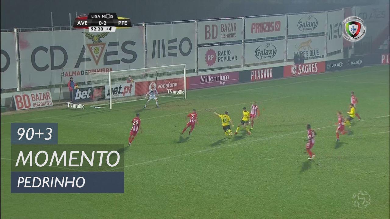 FC P.Ferreira, Jogada, Pedrinho aos 90'+3'