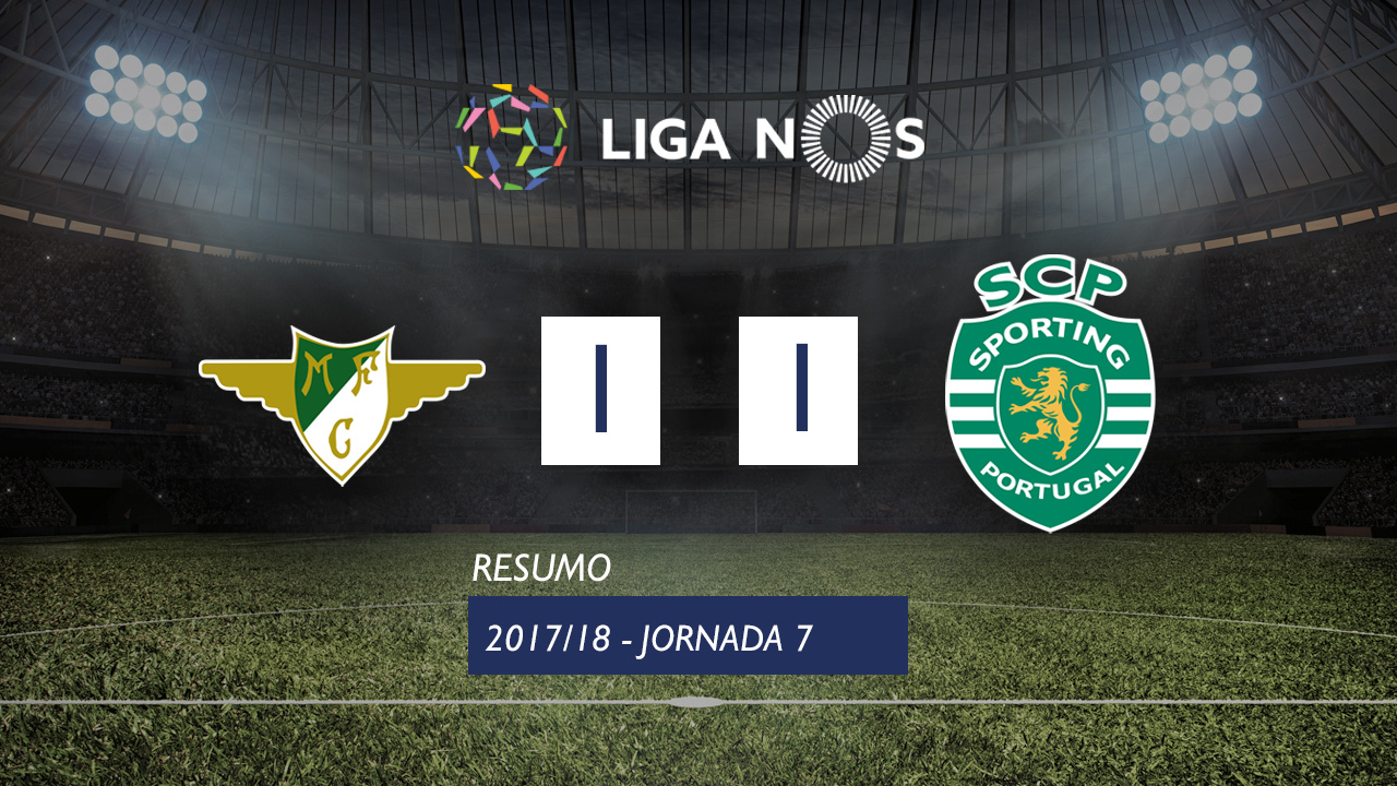 Moreirense Sporting Lisbon goals and highlights