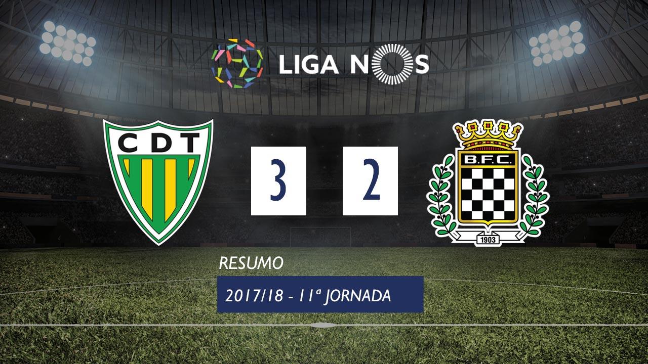 I Liga (11ªJ): Resumo CD Tondela 3-2 Boavista FC