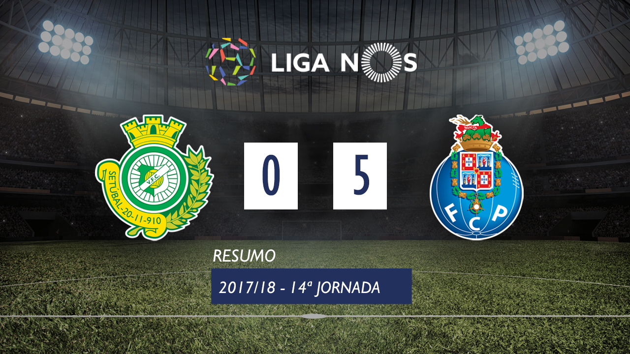 Setubal FC Porto goals and highlights