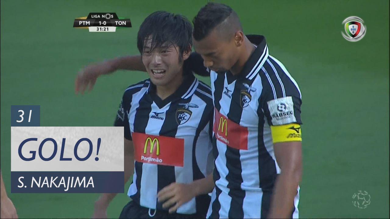 Portimonense, S. Nakajima aos 31', Portimonense 1-0 CD Tondela