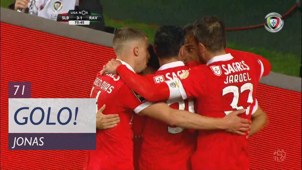 SL Benfica, Jonas aos 71', SL Benfica 3-1 Rio Ave FC