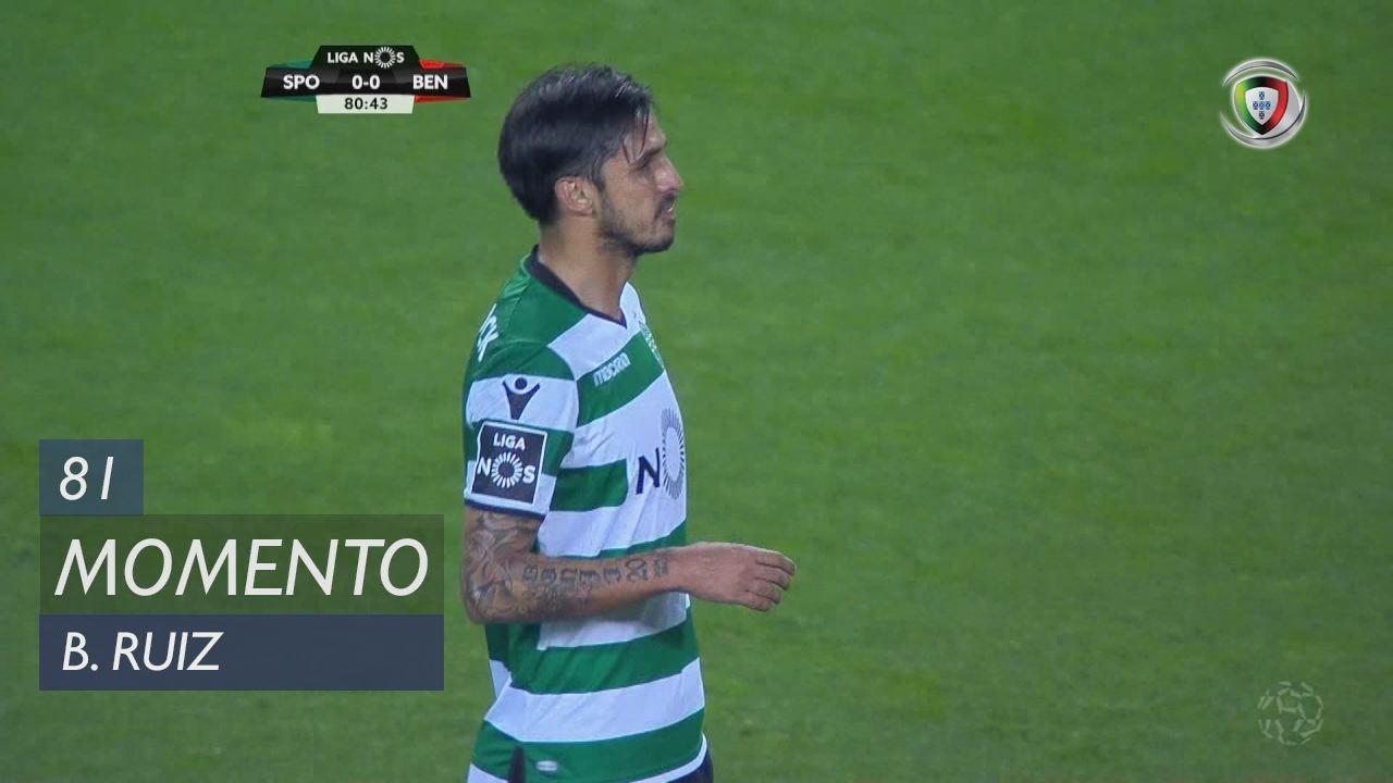 Sporting CP, Jogada, B. Ruiz aos 81'