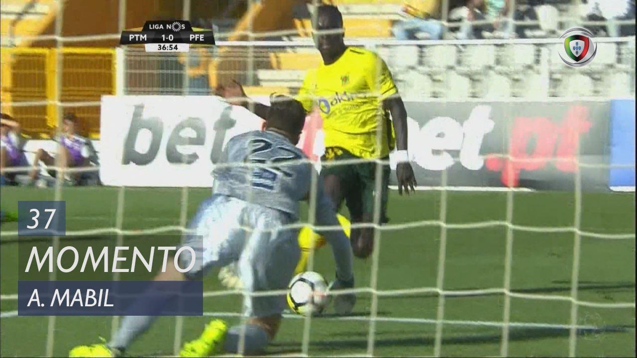 FC P.Ferreira, Jogada, A. Mabil aos 37'