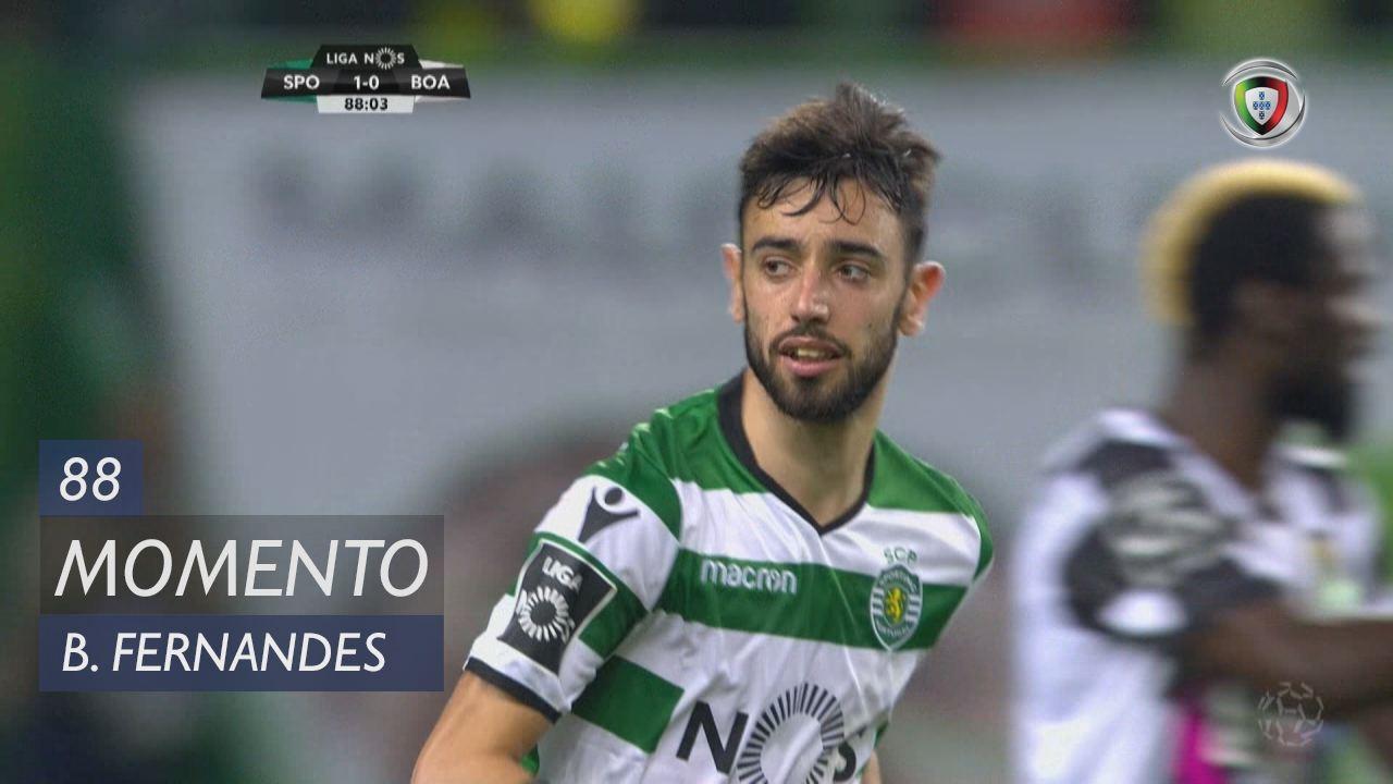 Sporting CP, Jogada, Bruno Fernandes aos 88'