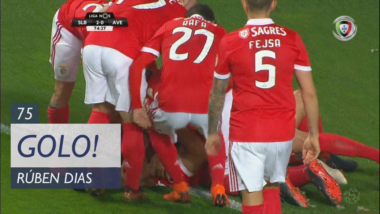 SL Benfica, Rúben Dias aos 75', SL Benfica 2-0 CD Aves