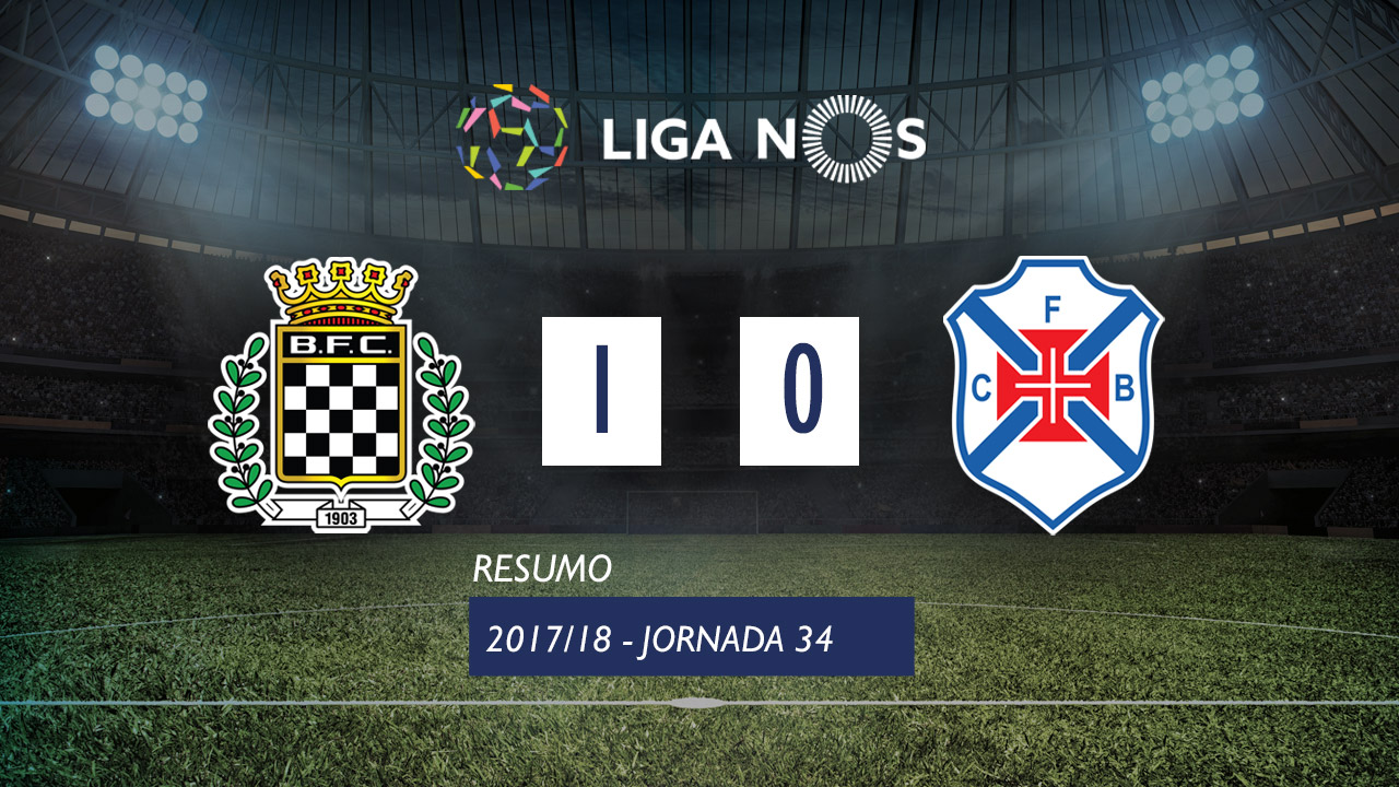 Boavista-Belenenses, 1-0 — Resultado final