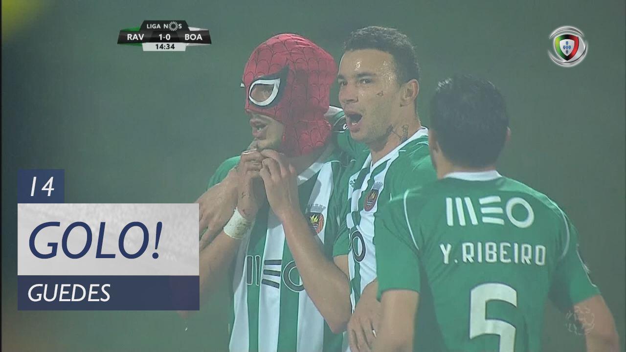 Rio Ave FC, Guedes aos 14', Rio Ave FC 1-0 Boavista FC