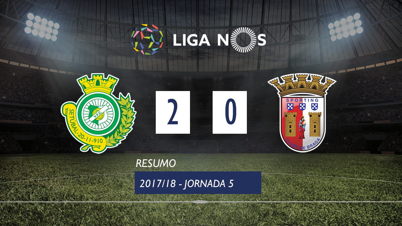 Setubal Braga goals and highlights